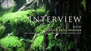 getlinkyoutube.com-[ADAview]世界水草レイアウトコンテスト2015 - グランプリ インタビュー