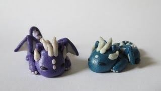 getlinkyoutube.com-Polymer Clay Dragon Tutorial!