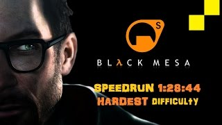 getlinkyoutube.com-Black Mesa SPEEDRUN 1:23 (HARDEST DIFFICULTY)