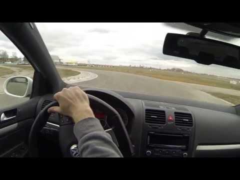 Мячково, VW Golf 5 GTI (21-04-2013, 3-ий заезд)