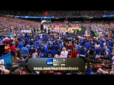 #2 Kansas vs #2 Ohio State Ncaa Tournament Final Four 2012 (Full Game)