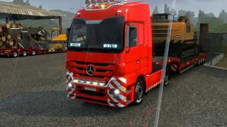 getlinkyoutube.com-EURO TRUCK SIMULATOR 2 Mercedes Actros Sound
