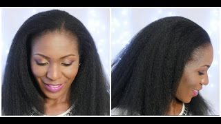How to : Afro crochet braids