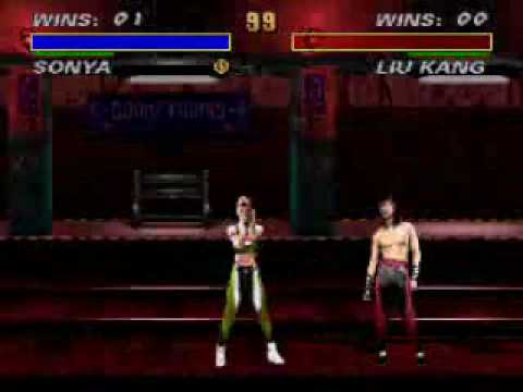Mortal Kombat All Finishers : Sonya Blade