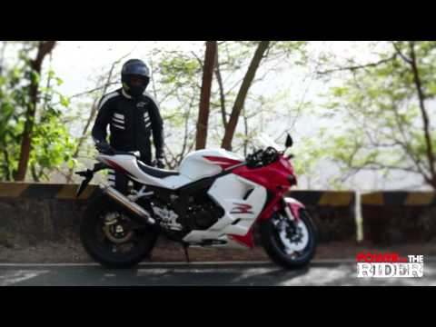 Hyosung GT250R - Power to the Rider