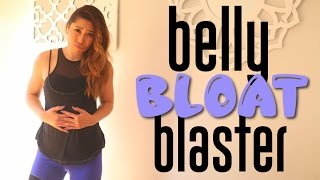getlinkyoutube.com-Belly Bloat Blaster Workout