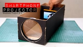 getlinkyoutube.com-Build A Smartphone Projector With A Shoebox