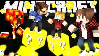 getlinkyoutube.com-Minecraft Modded Minigame: LUCKY BLOCK RACE 5 FINALE! - (Lucky Block Mod)