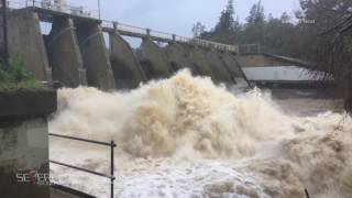 getlinkyoutube.com-Northern California Wind Rain and Flooding 2-20-17