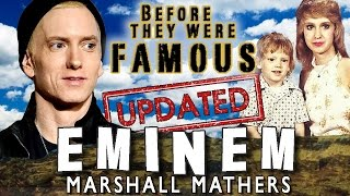getlinkyoutube.com-EMINEM - Before They Were Famous - UPDATED
