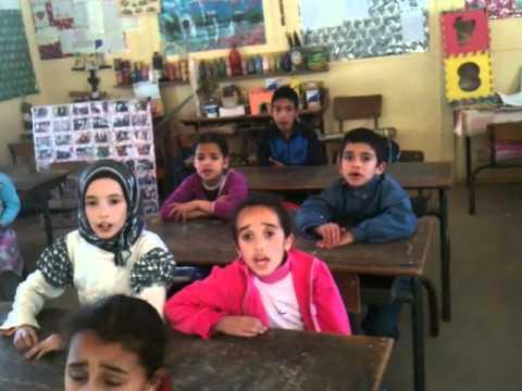 نشيد يا معلمي . بصوت تلاميذ اولاد هماد