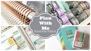 getlinkyoutube.com-Plan With Me! Weekly Planner Session: Horizontal Erin Condren Life Planner