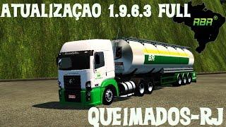 getlinkyoutube.com-Euro Truck 2 - Mapa RBR - Cidade De Queimados-RJ + Novas Empresas