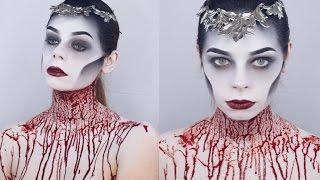 getlinkyoutube.com-QUEEN OF THE DEAD Makeup Tutorial