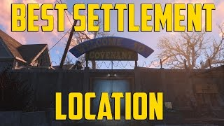 getlinkyoutube.com-Fallout 4 - Best Settlement Location