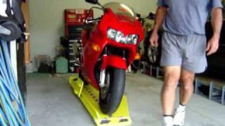 EZI Parker Motorcycle Turntables Australia.wmv