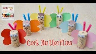 Butterfly Cork Craft