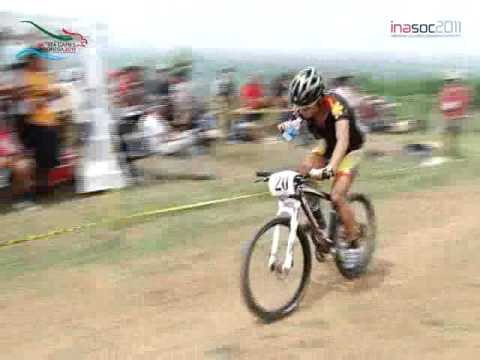 BALAP SEPEDA MTB CROSS COUNTRY PUTRA SEA GAMES 2011