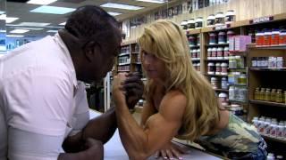 Leroy Colbert vs. Nikki Fuller in ARM WRESTLING