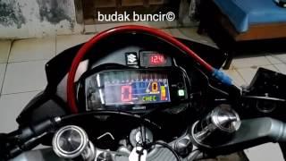 getlinkyoutube.com-Speedometer Fu injeksi di Fu karbu