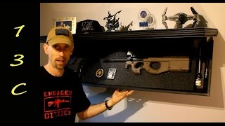 getlinkyoutube.com-Hidden in Plain Sight: Rifle Length Shelf - Tactical Walls Discrete Storage