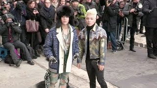 getlinkyoutube.com-Taeyang, G Dragon 권지용,  權志龍 and more attending the Chanel Haute Couture fashion show