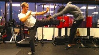 getlinkyoutube.com-Real Fighting of Tiger Style Kung Fu