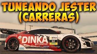 getlinkyoutube.com-GTA V Online - TUNEANDO NUEVO COCHE DINKA JESTER (CARRERAS) - Vehículos GTA 5