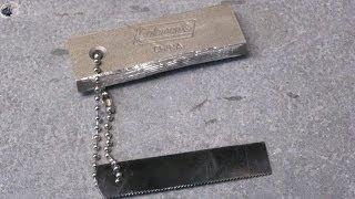 getlinkyoutube.com-Fire Steel / Fire Starter by Coleman (Magnesium and Ferrocerium) - Ferro Rod