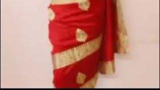 Mumtaj Style Hottest Saree Draping Method(Easy Sari Wearing Tutorial