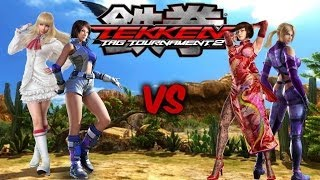 getlinkyoutube.com-Tekken Tag Tournament 2: leotekkenfan (Asuka/Lili) vs Esipo14 (Nina/Anna)