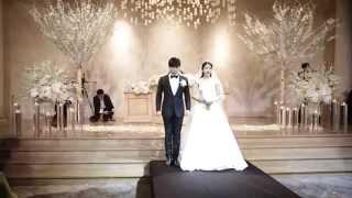 getlinkyoutube.com-فيديو زواج سونغمين عضو فرقة سوبر جونيور الكورية  بالممثلة كيم سايون