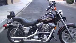 getlinkyoutube.com-Hunting Harley's, 1992 FXRS 2400 miles