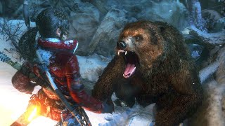 getlinkyoutube.com-Rise of the Tomb Raider - Brutal Death Scenes