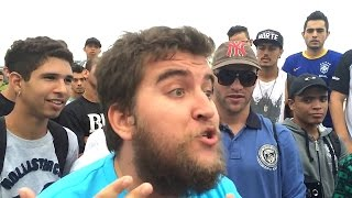 getlinkyoutube.com-Batalha de Rap do Museu - BIRO BIRO X ALVES - Best Of Rimas