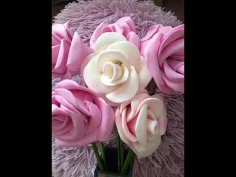 DIY: tutorial flor em eva