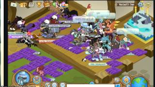 Animal Jam Inappropriate Den   AJHQ PLZ WATCH