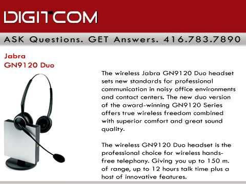 jabra wireless headset gn9125 manual