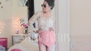 getlinkyoutube.com-3 Spring Outfits!♡