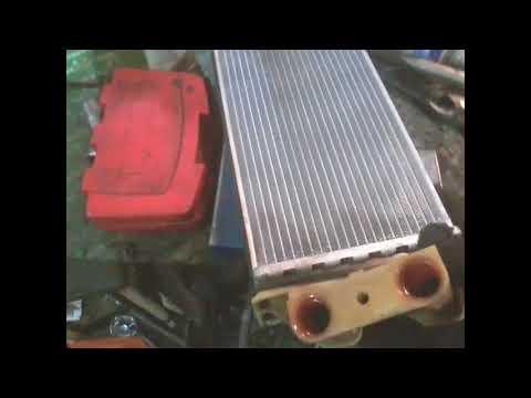 Замена радиатора печки фиат альбеа +кат№