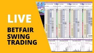 Swing Trading Betfair - Small stake's can bring profit too - Caan Berry