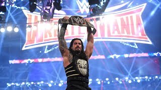 Roman Reigns beats Triple H for the WWE Championship: WrestleMania 32