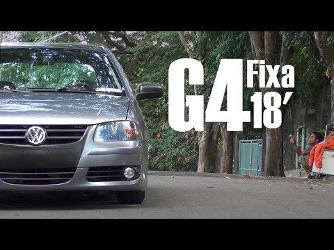 Gol G4 - Fixa 165/35/18, SOCADO!
