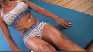getlinkyoutube.com-Getting RIPPED abs FEMALE