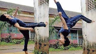 getlinkyoutube.com-Tiger Shroff' Showing Amazing Dance Moves @ Mithibai College festival KSHITIJ 2014.