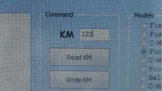 getlinkyoutube.com-Ford Focus 9s12 read and write eeprom Change  KM via OBDII