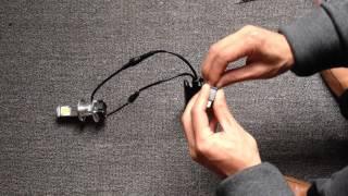 getlinkyoutube.com-LEDヘッドライト2000LM Hi/Lo切り替え不具合改善方法