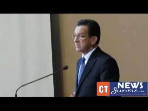 CTNJ-TV: Gov. Dannel P. Malloy On The Budget