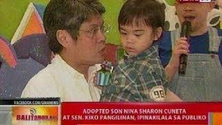 getlinkyoutube.com-BT: Adopted son nina Sharon Cuneta at Sen. Kiko Pangilinan, ipinakilala sa publiko