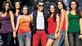 Salman Khan With Hot Bollywood Babes